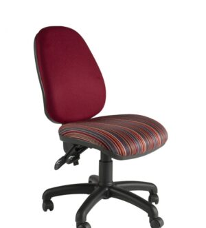 Barnes Deluxe Size Seat and Backrest Operator Chair