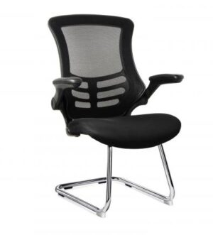 MESH BACK CANTILEVER MEETING CHAIR