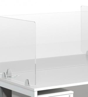 Clear Acrylic Screen for 1200 Desk